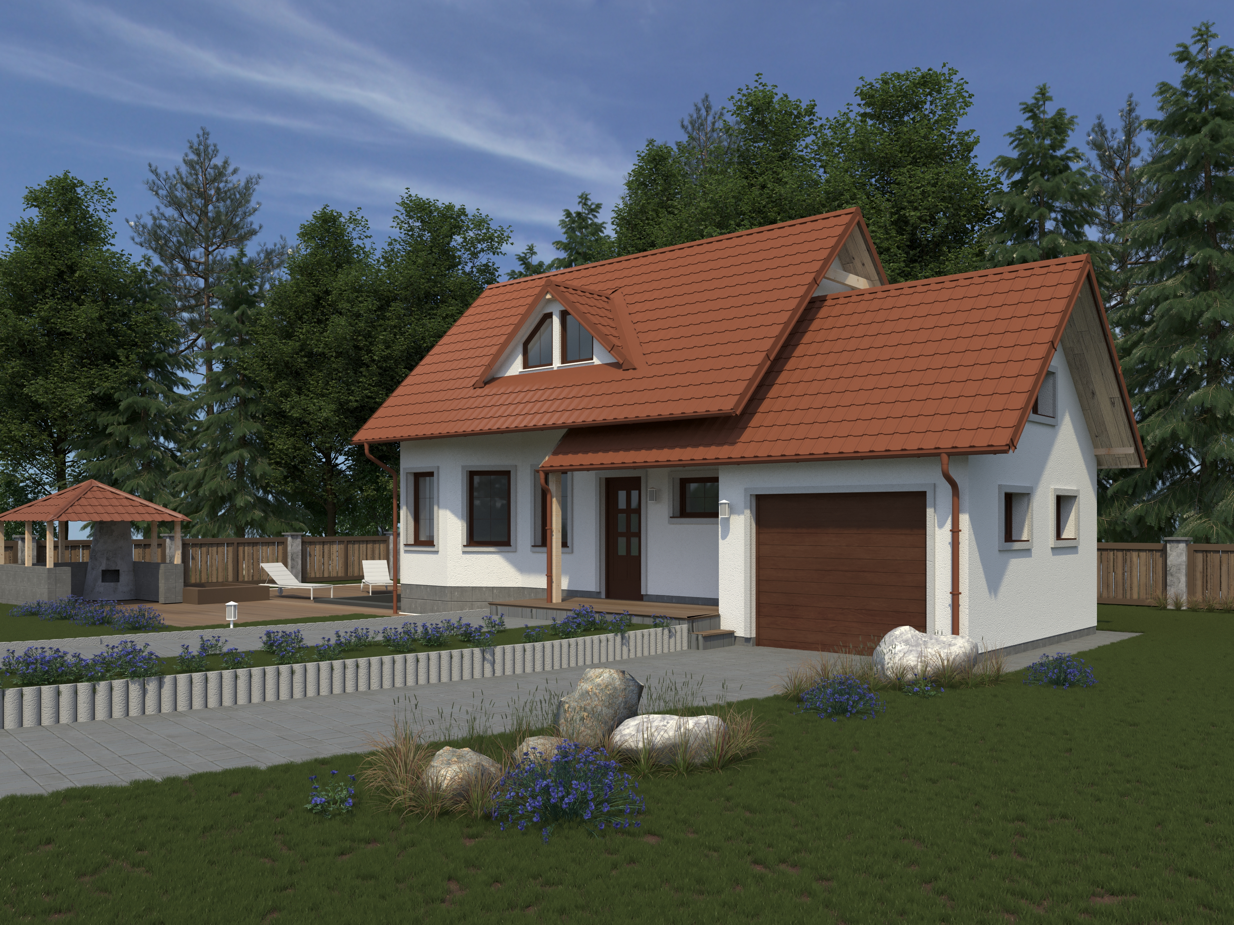 Stavba strechy od začiatku až po koniec