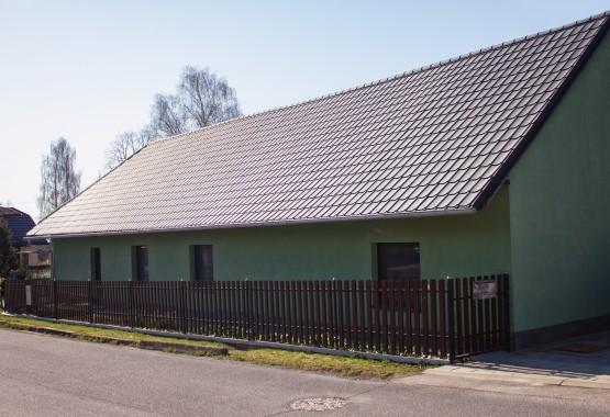 Typ krytiny : Škridplech + plotové lamely